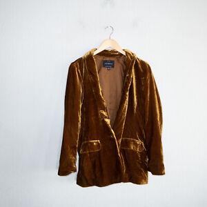 Lucky Brand Women's Size Medium Good Blazer Velvet