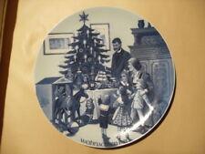 Schöner alter Weihnachtsteller der Firma Jacobs Kaffee von 1981