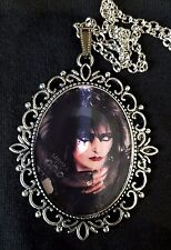 SIOUXSIE Large Antique Silver Pendant Necklace Music Punk Goth CD Hyaena Banshee