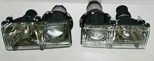Ferrari 348 355 456 F40 Mondial Set H1 Headlights Right + Left with Bulbs NEW