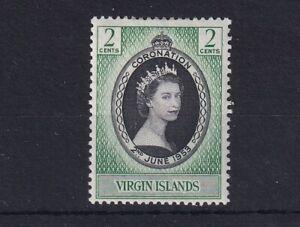 VIRGIN ISLANDS 1953 QEII Coronation SG 148 LMM
