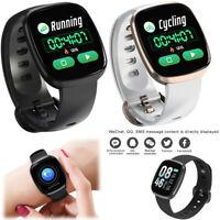 Smartwatch Fitness Tracker Pulsmesser Sport Armband für iPhone Samsung Huawei LG