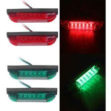 4PCS Boat Navigation LED Lighting Red and Green Waterproof Utility Strip Bar