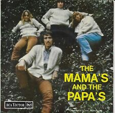 The MAMAS & THE PAPAS EP FRANCE  I SAW HER AGAINEVEN IF I COULD I CALL YOUR NAME