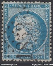 FRANCE CERES N° 60 OBLITÉRATION GC 1853 IWUY NORD A VOIR
