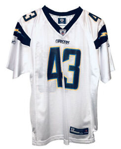 Reebok San Diego Chargers Darren Sproles 43 White Mesh Jersey Adult XL 18-20