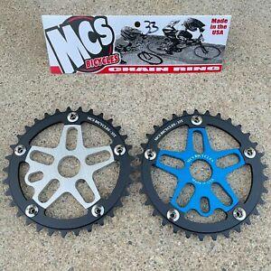 MCS ALLOY SPIDER & CHAINRING SPROCKET BMX BIKE CRUISER SPROCKETS GT SE HARO