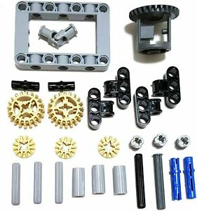 LEGO Technic 27 Piece Differential Parts Pack - Small Frame Gear Set Mindstorms