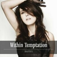 "WITHIN TEMPTATION ""FASTER"" CD 2 TRACK SINGLE NEU"