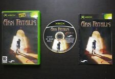 JEU Microsoft XBOX : ARX FATALIS (DreamCatcher COMPLET envoi suivi)