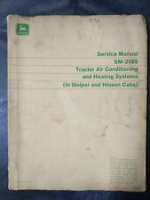 John Deere Tractor Air Conditioning And Heating Systems Service Manual