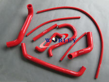 Silicone Radiator Hose Kit For Ford Falcon AU1 AU2 4.0L 6CYL 1998-2002 99 00 RED