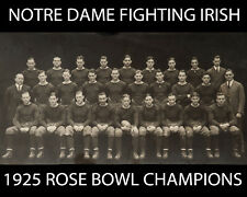 Notre Dame - 1925 Rose Bowl Champions, 8x10 B&W Team Photo