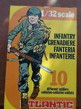 ATLANTIC 1/32 -  FANTERIA ITALIANA -GRANATIERI - BOX SERIE 2100 ITALIAN INFANTRY
