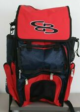 New Boombah Baseball Softball Superpack Red Navy No Front Flap