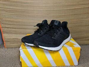 Adidas Ultraboost Women's size 10 Men's size 9 Black White Boost Used 9/10 condo