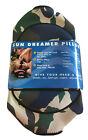 Sun Dreamer Portable Compact Pillow for Beach or Camping  Camo Print NEW
