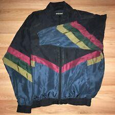 silk vintage jacket ; adult XL ; Robert Stock