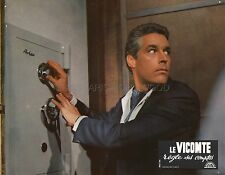 KERWIN MATHEWS LE VICOMTE REGLE SES COMPTES 1967 VINTAGE LOBBY CARD #4