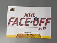 Kyle Connor 2020-21 Upper Deck Series 1 Canvas C89 Winnipeg Jets