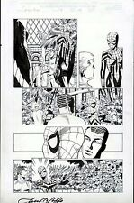SPIDER-GIRL #34 PAT OLLIFFE AL WILLIAMSON ORIGINAL MARVEL COMIC ART PAGE OSBORN