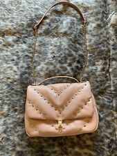 Zara Pink Studded Quilted Bag Chain Strap USED ONCE