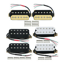 FLEOR Double Coil Humbucker Ceramic Pickup Neck / Bridge for Electric Guitar