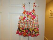 EUC!! Gymboree Aloha Sunshine Floral Tank Top - Size Girls 10