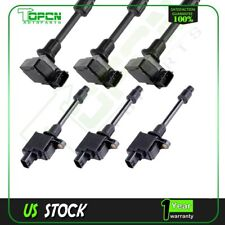 Set 6 Ignition Coils on Plug Pack For 2000 2001 Nissan Maxima Infiniti