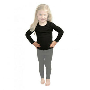 BLK MD 6-8 360 Degrees Kids Polypro Active Thermal Top 3 Sizes and Colours