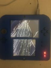 WE FIX YOUR Nintendo 2DS  WITH TOP CRACKED LCD any color
