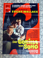 EDGAR WALLACE * Gorilla von Soho A1-FILMPOSTER Tappert, Glas, Fux ´68
