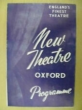 New Theatre Programme 1959- E Laye,S Baxter,W Fitzgerald in THE AMOROUS PRAWN