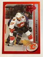 2002-03 O-Pee-Chee Premier Red - MARC SAVARD #72 Calgary Flames 27/100