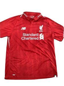 Rare Collectible Liverpool FC 2018 2019 18/19 Home Shirt Large LFC NB MT830000