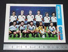 ÖSTERREICH AUTRICHE  FICHE ONZE MONDIAL COUPE MONDE FOOTBALL ITALIA 90 1990