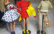 Barbie Clothes Lot 3 Outfits with Shoes and Couple of Purses Gently Used and New