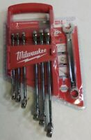 Milwaukee 4932464994 MAX BITE Ratcheting Combination 15pc Spanner Set