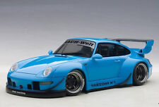 Autoart Porsche RWB 993 1:18 Model Car 78152 Blue with Gun Grey Wheels