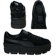 Puma Fenty By Rihanna Cleated Creeper Lace Up Suede Womens Trainers 366268 04