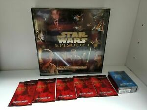 Star Wars EP 1 Collectible Card Game 5 Booster, 12 Deck Tomb raider