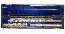 Antico ANNI 1970 in argento Gemeinhardt 3SS Flauto Fori Aperti