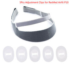 5x Replacement Headgear Assembly Clips for Resmed Airfit P10 Nasal Pillow CPR_S5