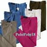 New Polo Ralph Lauren Logo Chino Pants Stretch Slim 30 31 32 33 34 35 36 38 40