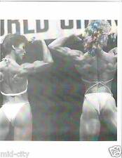 Ms Olympia Rachel McLish  /Cory Everson Female Bodybuilding  Photo B+W