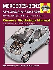 New Haynes Manual Mercedes A-Class 98-04 Car Workshop Repair Book 4748