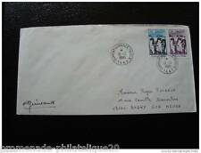 TAAF lettre 15/12/1980 - timbre Yvert et Tellier n°86 et 88 (cy2)