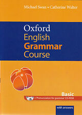 OXFORD ENGLISH GRAMMAR COURSE Basic with Answers & CD-ROM by Michael Swan @NEW@