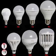 1/2x 3W 5W 7W 9W 12W 18W 36W E14 B22 E27 Globe LED Bulb Light Lamp Energy Saving