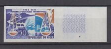 1966 NIGER #167 HYDROLOGY HYDROLOGICAL DECADE Imperf MNH